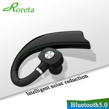 Roreta 3D Stereo Wireless Bluetooth Earphone Business Handsfree call Headset wit