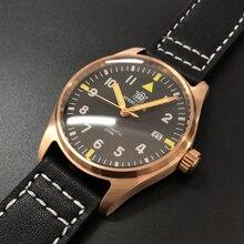 Germany CuSn8 Bronze Pilot Watch 20 bar Mechanical