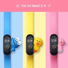 Ограниченная серия браслетов для xiaomi mi Band 3 4 спортивный ремешок силиконовый ремешок на запястье для xiaomi mi band 4 браслет mi band 4 3 ремешок