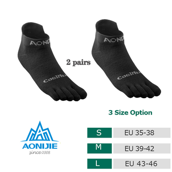 Toe Socks 2020 New CoolSpec Run Lightweight No-show Blister prevention Five Fingers Running Basketball Pilates Yoga Men - discount item  30% OFF Sportswear & Accessories