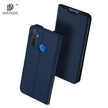 أغلفة جلدية قابلة للطي لهواتف OPPO Realme 5 5i Realme5 أغلفة جلدية للكتاب لهواتف Realme 5 5s 5i أغلفة مغناطيسية 6.5 بوصة