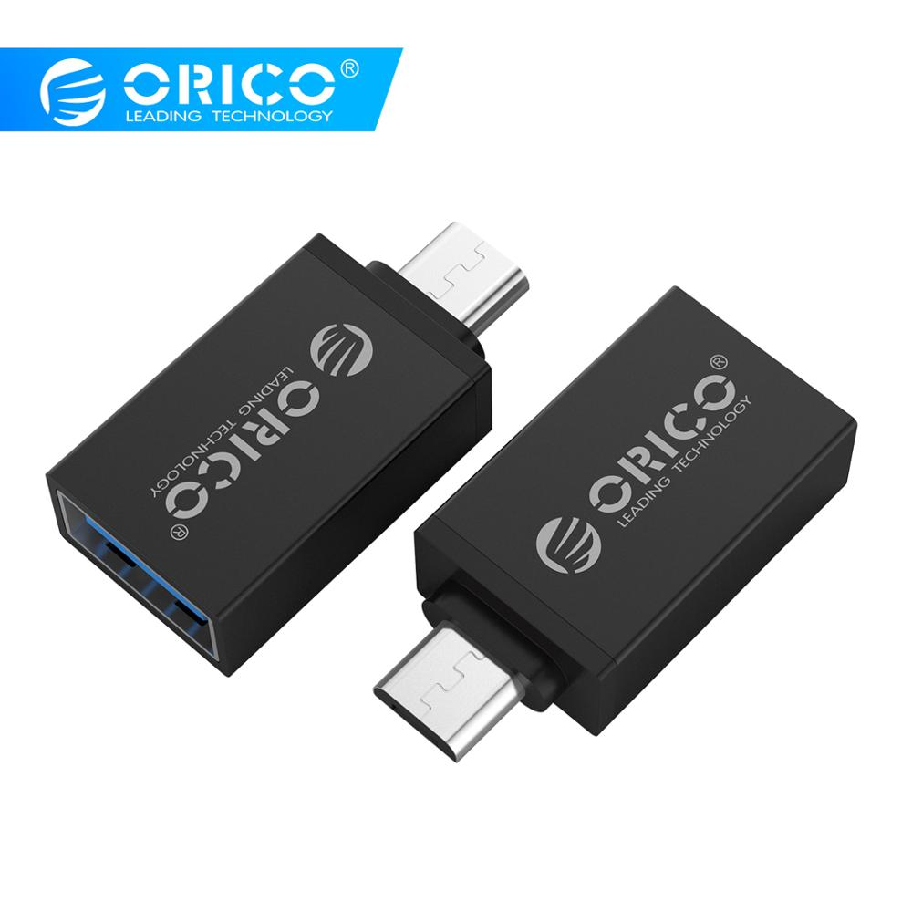 ORICO OTG Adapter Micro B To USB 3.0 Adapter USB3.0 5Gpbs Transmission Rate Convertor Connect Phone Tablet To U-disk Mouse