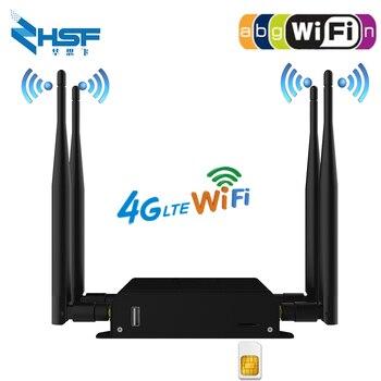 3g 4g LTE Router Support VPN PPTP L2TP 4G CPE Router 3G/4G LTE Wifi Router 300Mbps Wireless CPE Router With 4pcs External Antenn skylab skw92a 802 11b g n 2x2 mimo mt7628n 3g 4g wifi router module development board