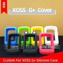 Xoss g capa protetora silicone compatível xoss g plus bicicleta computador sem fio gps velocímetro