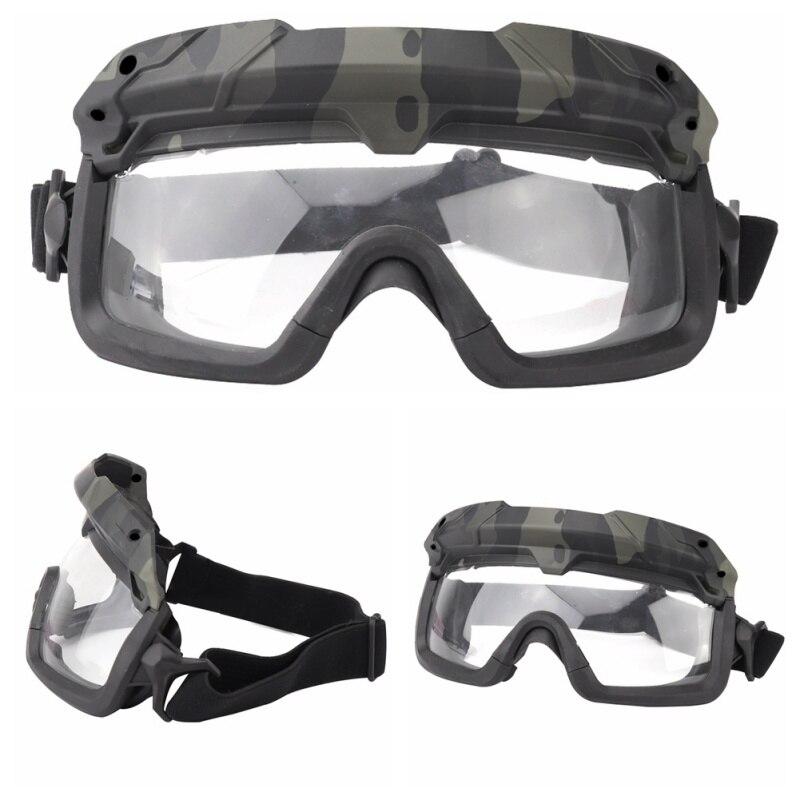 Ветрозащитные тактические очки для страйкбола, охотничьи очки, очки для стрельбы, мотоциклетные очки Wargame, очки для верховой езды, очки для пейнтбола, защита глаз - Цвет: 2