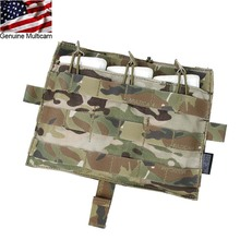 TMC Tactical Panel Molle M4 TRIPLE MAG Pouch Bag Multicam for Tactical AVS JPC2.0 Vest Front Panel Free Shipping