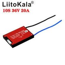 Akumulator LiitoKala bms 10S 36V 20A BMS używany do akumulatora 36v 20A ciągły z funkcją równowagi