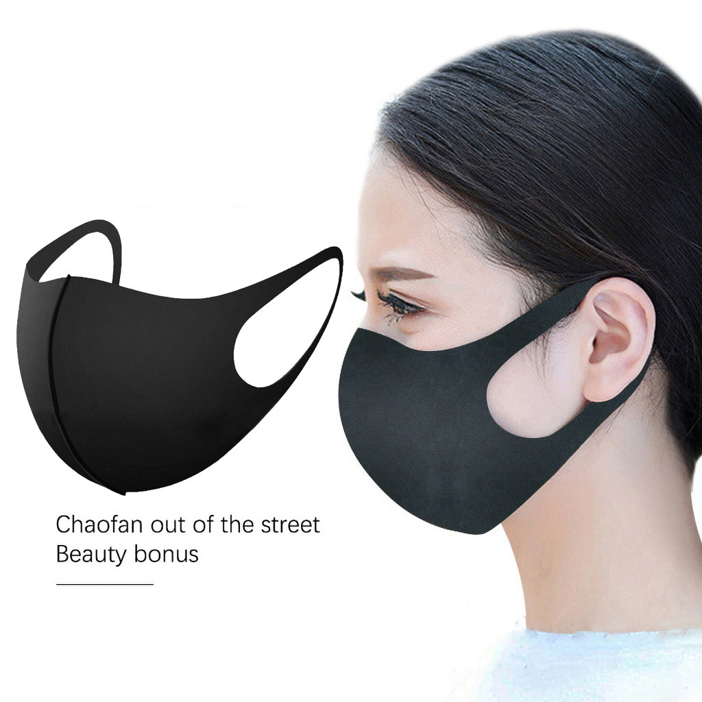 Three-dimensional Mouth Masks Protection Health Cycling Anti-Dust Mouth Face Mask Breathable Respirator Masque Mascarillas
