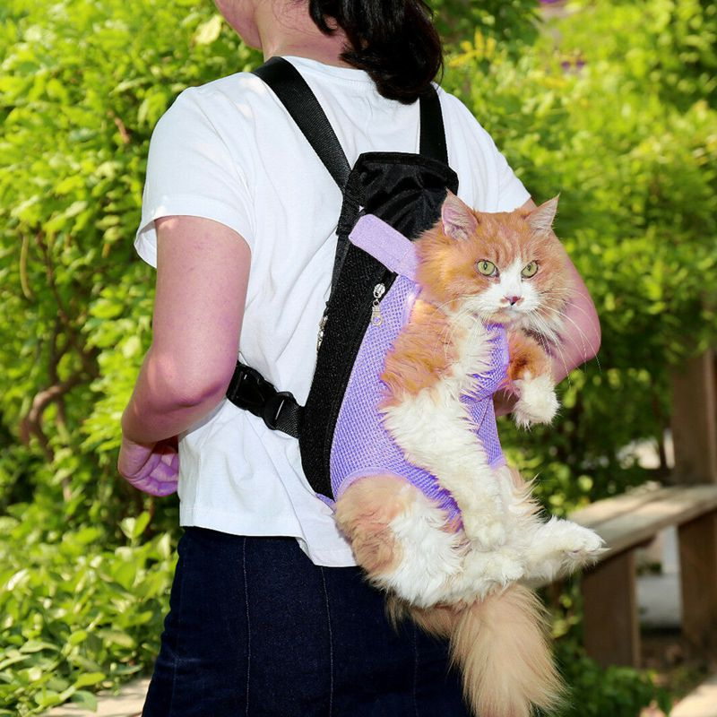 Pet Carrier Backpack Adjustable Pet Front Cat Dog Carrier Travel Bag Legs Out Minii Backpack  /BY