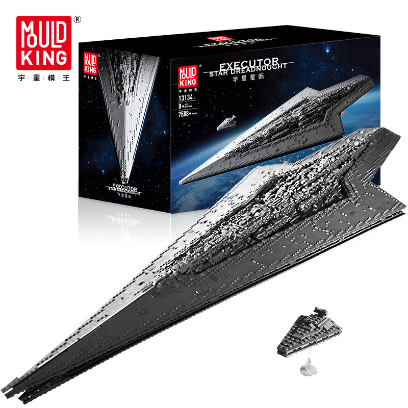 DHL 7788Pcs Star Wars The Imperial Star Destroyer Toys Model Building Block DIY Toy Christmas Gift Compatible legoing 75252