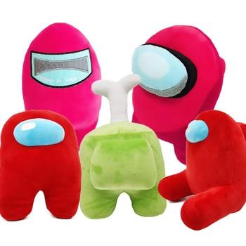 us Red 20-25cm Game Among Us Plush Toy Among Us Plushie Soft Stuffed Animal Dolls Merch Among Us Toy