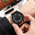 Mode Lässig runde der Männer Quarz Uhren Business wasserdicht männlichen Uhren männer mechanische armbanduhren automatische orologio uomo