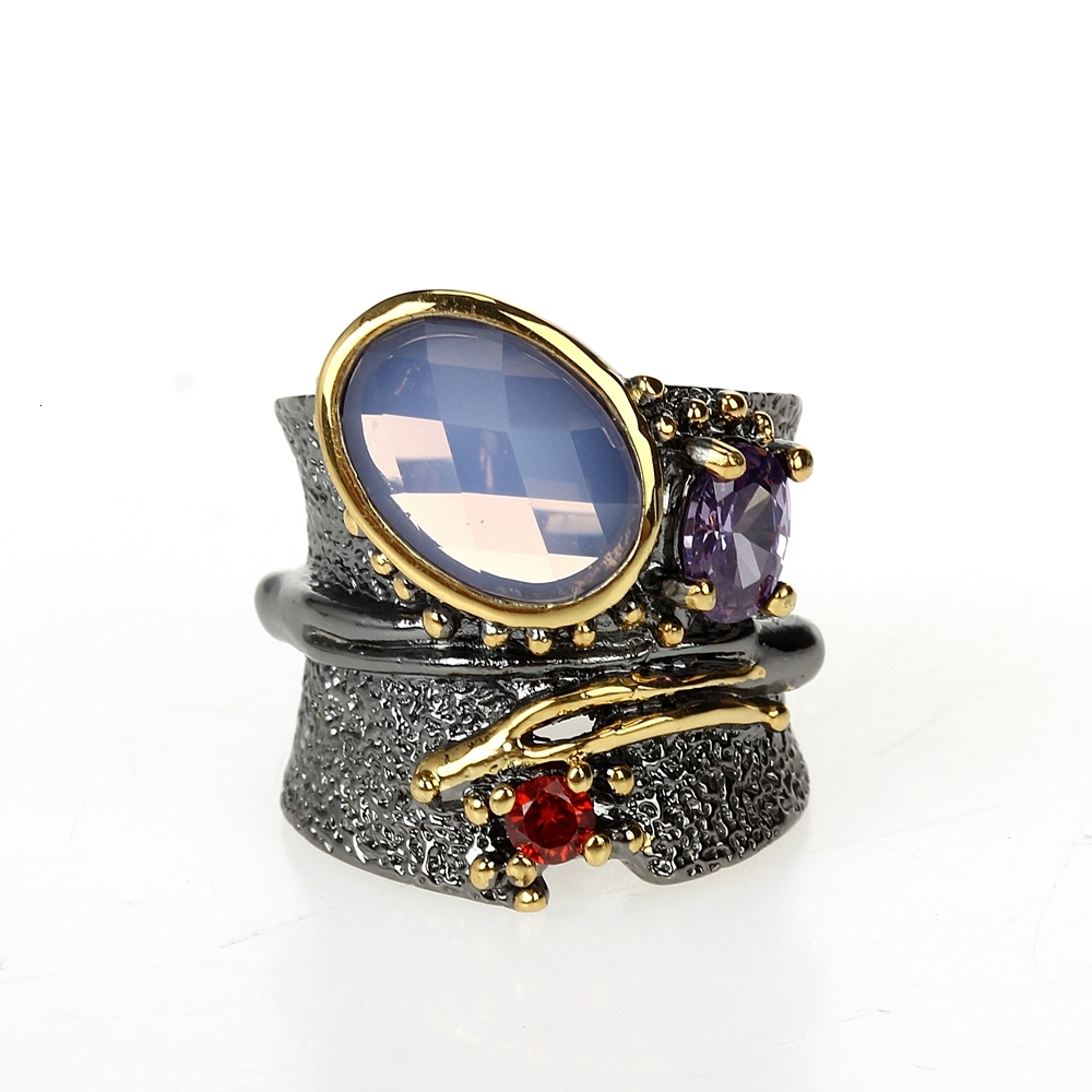 WA11749 DC1989 dreamcarnival1989 Top Brand Gothic Rings women wedding must have (2)