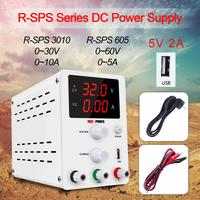 Lab Adjustable Power Supply 60V 5A Laboratory Voltage Regulator Source Switching Mini Power Supply Unit Voltage Stabilizer