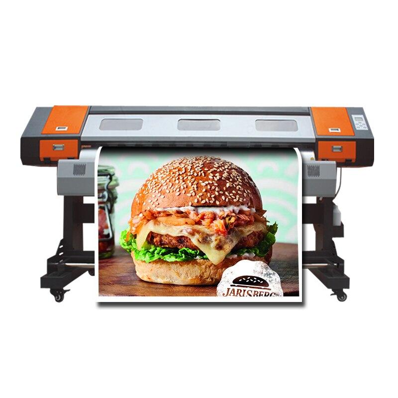 Large Format Printing Machine 1600mm Dx5 Head Outdoor Advertising Printer Pvc Roll Printer Dx7 Color Inkjet Plotter Wide Format