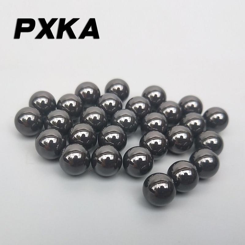 "7.144mm 9//32/"" 0.2813/"" Si3N4 50 PCS Ceramic Silicon Nitride Bearing Ball G5"