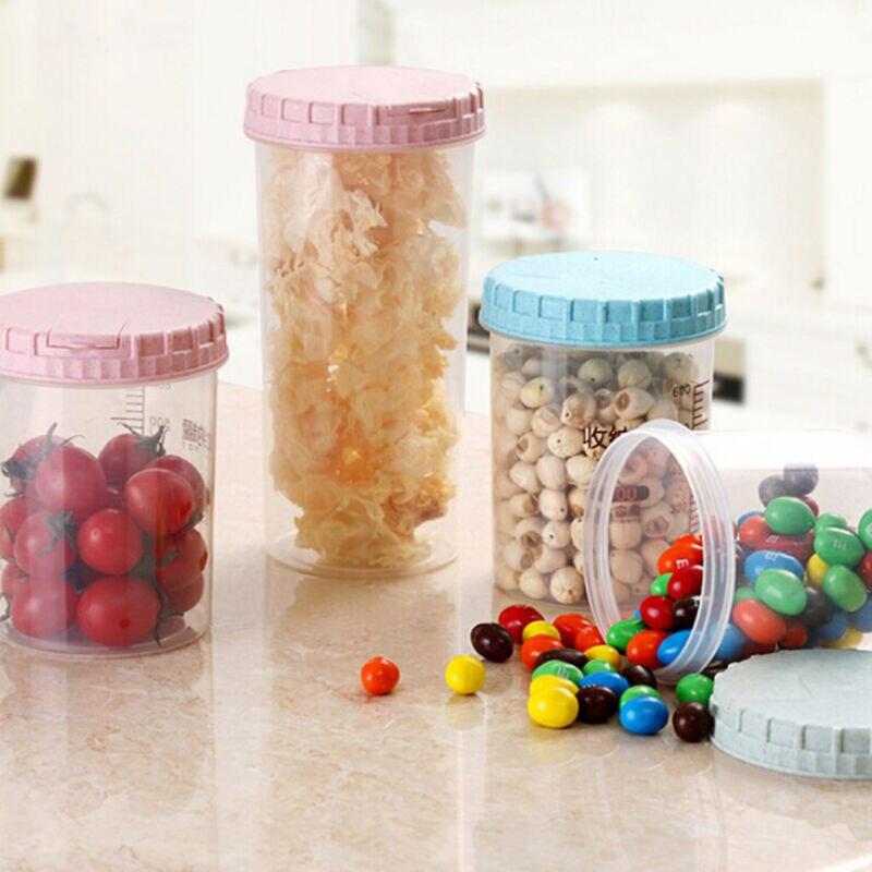 Doppio dispenser di cereali cibo secco contenitore dosatore per macchina per la pasta New