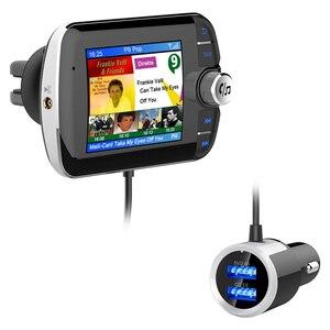 Image 4 - DAB004 DAB 디지털 라디오 수신기 LCD 컬러 스크린 디스플레이 블루투스 라디오 어댑터 지원 MP3 음악 USB 충전기 자동차에 대 한