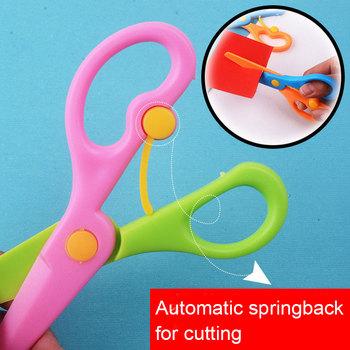 Hot Preschool Training nożyczki nożyczki bezpieczeństwa dla dzieci przedszkole nożyczki nożyczki bezpieczeństwa rzemiosło artystyczne nożyczki LBV tanie i dobre opinie JJRC Dorośli 8 ~ 13 Lat 2 ~ 4 Lat 5 ~ 7 Lat 14 lat i więcej Craft Toys Europa certyfikat (CE) None Other