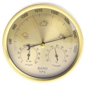 Image 2 - Барометр термометр гигрометр настенный бытовой метеостанция