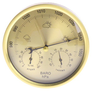 Image 2 - Barometer Thermometer Hygrometer Wall Mounted Household Weather Station