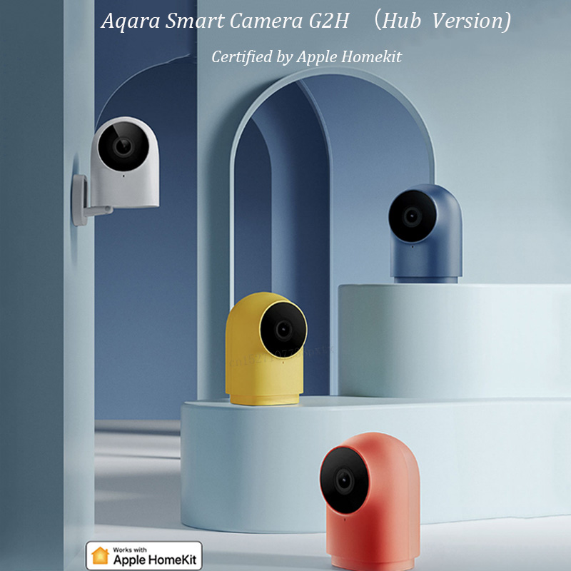 Original Aqara G2H Camera 1080P HD Night Vision Mobile For Apple HomeKit APP Monitoring G2 H Zigbee Smart Home Security Camera