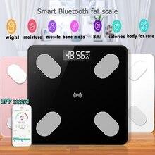 26*26 см весы для жира, умный BMI, светодиодный, цифровой, для ванной, беспроводной, весы, вес тела, bluetooth, баланс, Android, IOS APP