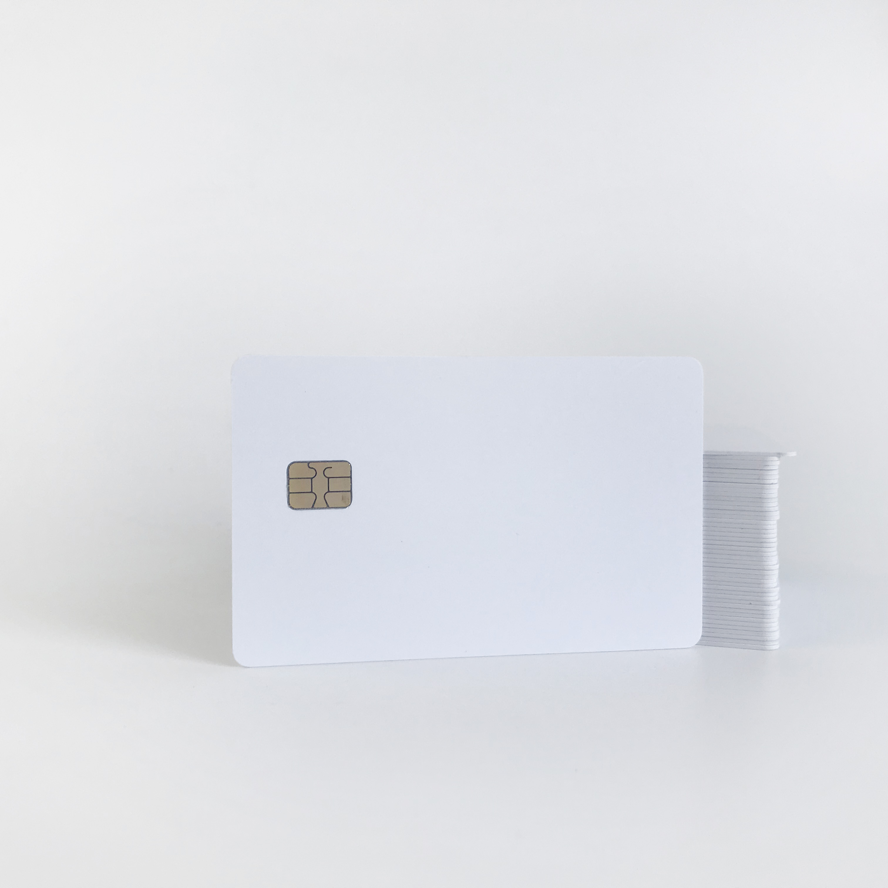 100pcs 4442 Contact Smart Chip Card with Both Side Printed Printing by Epson or Canon Printers for Membership Card Access Card