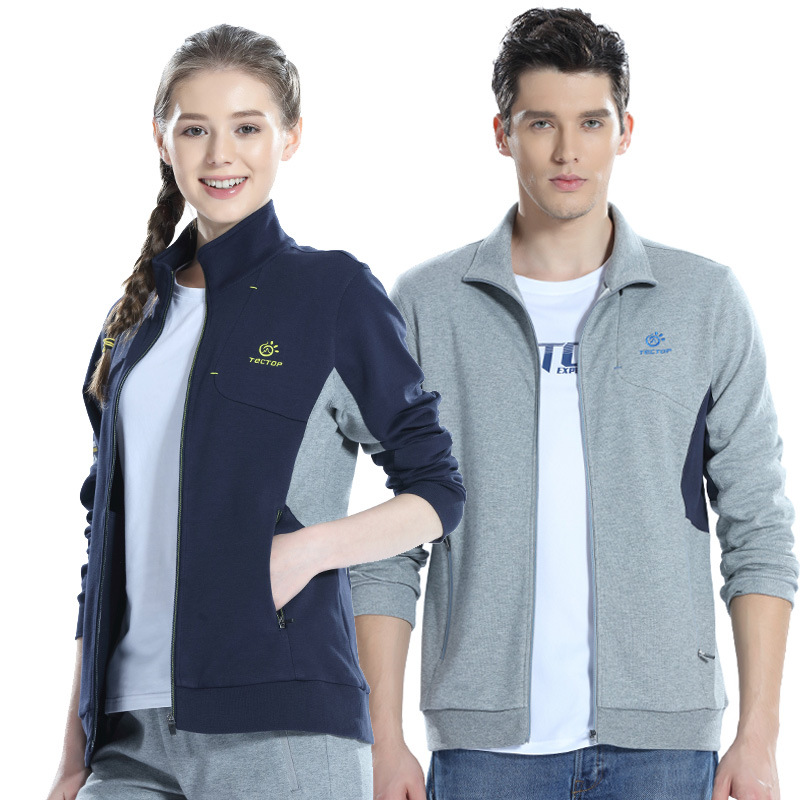 Outdoor Casual Coat Spring And Autumn Athletic Clothing Jogging Suits Men And Women-Windproof Clothing