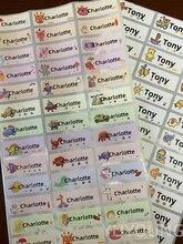 120 pces nome tag etiqueta personalizar adesivos à prova dwaterproof água etiquetas personalizadas crianças escola papelaria garrafa de água lápis pencil u