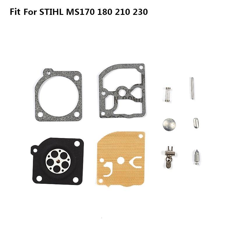 1 комплект карбюратор Ремкомплект для CG230/330/430/520 кусторез Ремонтный комплект для бензопелы, для 4500 5200 Запчасти для триммеров, Запчасти чай - Цвет: 08
