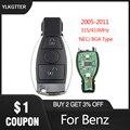 Пульт дистанционного управления YLKGTTER 433 92 МГц для Mercedes Benz 2005-2011  NGT Turbo CDI B160 B170 B180 B200  с ключом доступа  подходит для Mercedes-Benz