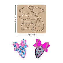 Cutting Dies Machines Hair-Clip Scrapbooking Leather Mold Craft Wooden Big-Shot Common