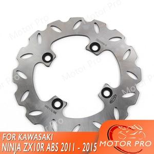 Para Kawasaki Ninja ZX10R ABS 2011 2012-2015 disco de freno trasero Rotor accesorios de motocicleta 2013 2014 ZX-10R Z750 S ER6N