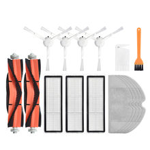 Hepa filtro pano mop escova lateral principal substituição kit para xiaomi 1c stytj01zhm dreame f9 robô aspirador de pó peças reposição