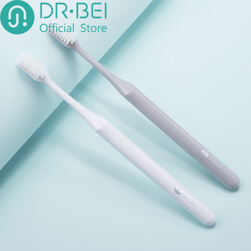 Cepillo De Dientes DR. Bei Youth Version BET Toothbrush Comfortable Soft Grey White Cleaning Gums Choose Dental Care Xiami Xaomi