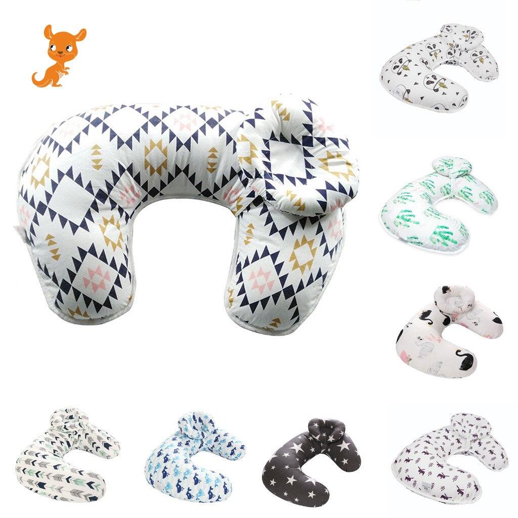enfermagem do bebe recem nascido amamentacao travesseiro capa de enfermagem slipcover protector removivel elastico almofadas em