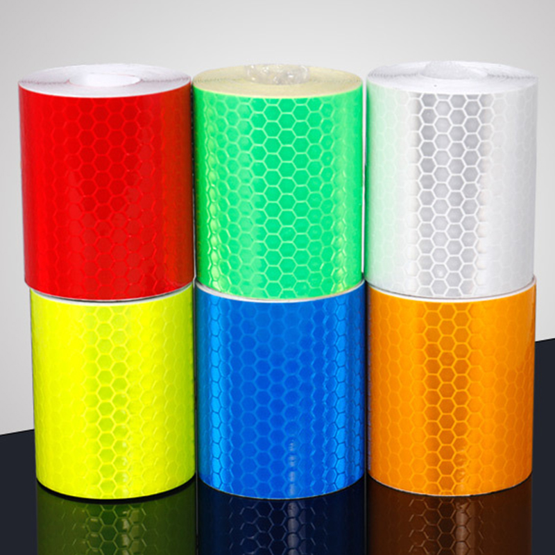300*5cm Safety Cycling Bike Body Reflective Strips Frame Protection Motorcycle Waterproof Tape Sticker Reflector Practical