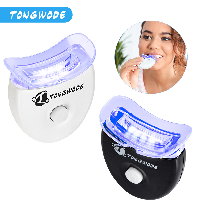 5 LED Chips Teeth Whitening Accelerator Cleaning Teeth Whitening Light  Stains Dental Bleaching Equiptment