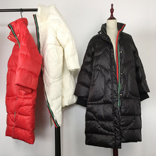 White Duck Autumn Winter Down Jackets Girls Long O