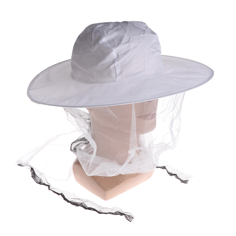 Bee Hat Bee Protection Mosquito Bite Outdoor Camping Net Head Face Protector Cap Beekeeping Supplies in Outdoor Tools from Sports Entertainment