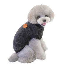 Пуловер для французского бульдога одежда собак теплая флисовая