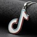 Ожерелье с подвеской в стиле рок в стиле рэп, стильная музыкальная бижутерия в стиле хип-хоп, рок цепь из нержавеющей стали, поклонники прямы...