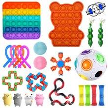 Fidget Toys 23/24/25PCS Pack Sensory Toy Set Antistress Relief Autism Anxiety Anti Stress