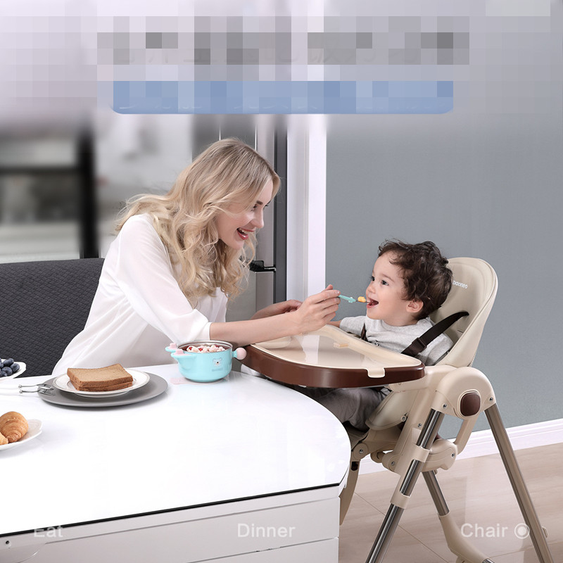 Authentic Portable Baby Seat Baby Dinner Table Multifunction Adjustable Folding Chairs For Children