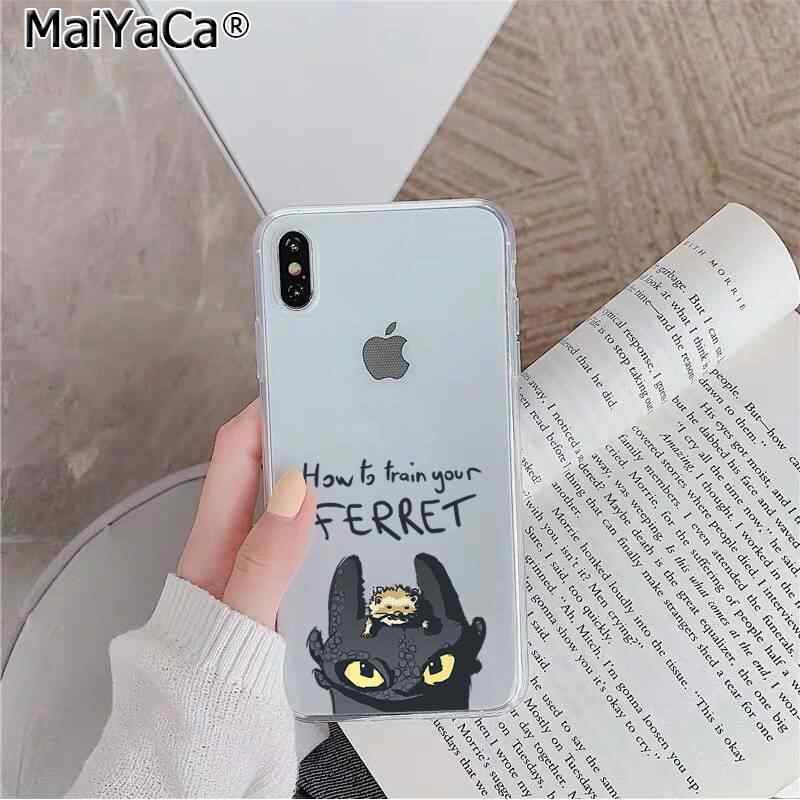 Maiyaca Tandeloze Hoe To Train Your Dragon Klant Hoge Kwaliteit Telefoon Case Voor Iphone 11 Pro Xs Max 8 7 6 6S Plus X 5 5S Se Xr