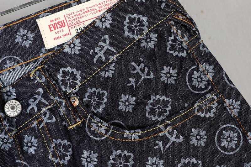 2020 本物 Evisu 新通気性高品質のトレンドファッション男性パンツ暖かいジーンズストレートプリントレジャー男性のズボン E6208