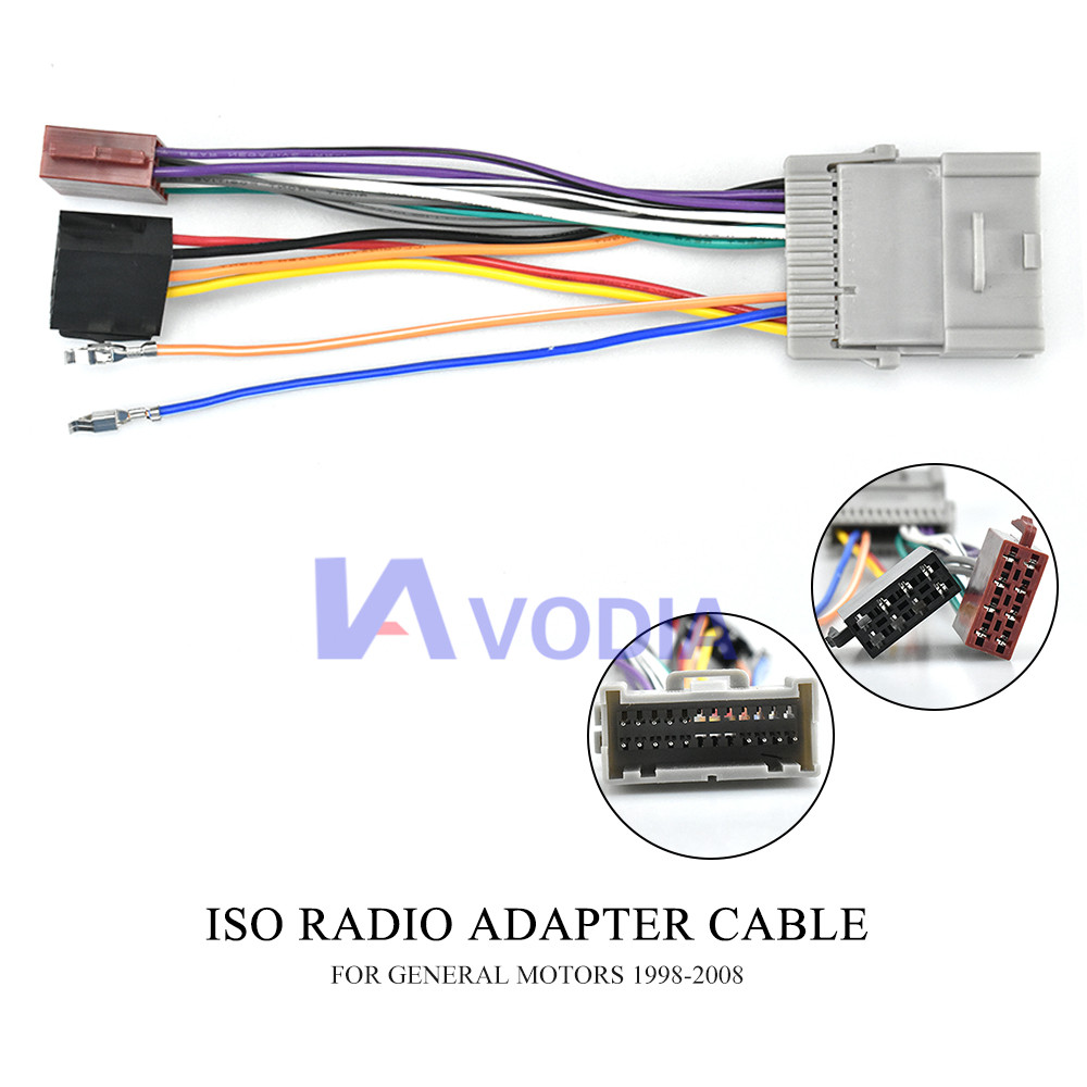 US $6.99 65% OFF|12 042 ISO() HARNESS radio adapter for BUICK 2004 on ford excursion stereo wiring, toyota 4runner stereo wiring, jeep patriot stereo wiring, ford explorer stereo wiring, nissan rogue stereo wiring, chevy silverado stereo wiring, chevy tahoe stereo wiring,