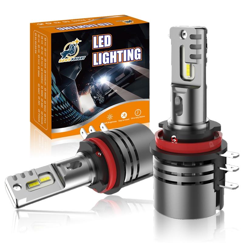 H15 canbus lâmpada led 12v 6000k 12000lm farol para ford ranger explorer para golfe 6 para mazda CX-5 para a3 a6 lâmpada led