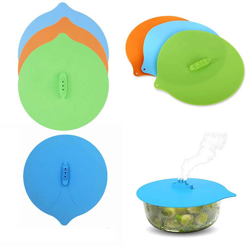 Parowiec kształt gotować Over Spill korek obejmuje przenośne silikonowe gadżety kuchenne narzędzia kuchenne pokrywka parowa dekatyzacja pokrywy
